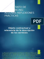 El Contrato de Outsourcing
