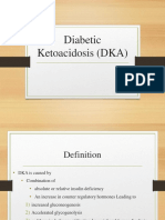Diabetic Ketoacidosis (DKA) - Presentation Slide Edited