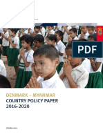 Denmark-Myanmar Policy Paper
