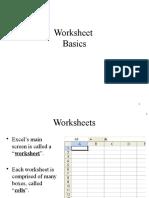 Excel Intro