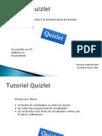 tutoriel quizlet traam2013