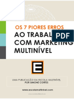 eBook 7 Erros Multinivel