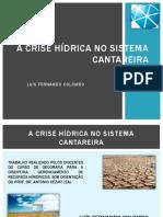 A Crise Hídrica No Sistema Cantareira2