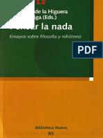 AA.VV. - Pensar la nada. Ensayos sobre filosofia y nihilismo.pdf