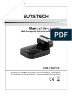 Sunstech DTBP300PVR Manual