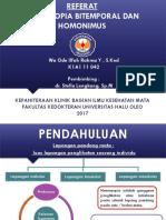 PPT Hemianopia