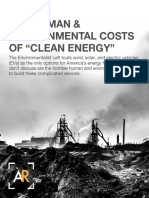 """The Human & Environmental Costs Of """"Clean Energy"""""""