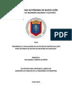 Thesis Analisis de Particulas de GPF