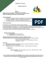 Prof. Omer Mainohur- Proiect Didactic