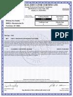 ga certification