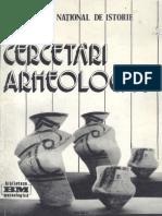 Cercetari Arheologice VII 1984