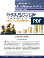Analise Da Proposta Do OE 2017