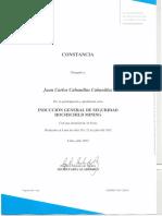 CERTIFICADO DE INDUCCION GENERAL DE SEGURIDAD - JUAN CARLOS CABANILLAS.pdf