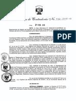 """R.C 112-2015-CG Directiva N° 003-2015-CGGPROD """"Emisión del Informe Previo establecido por el literal l) del artículo 22° de la Ley N° 27785"""