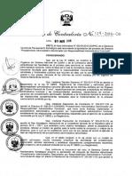 R.C 129-2016-CG Directiva N° 010-2016-CGGPROD Procedimiento Administrativo Sancionador por Responsabilidad Administrativa Funcional