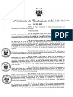 R.C. 268-2015-CG Directiva N° 011-2015-CGGPROD Servicio de Atención de Denuncias