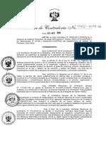 R.C N° 445-2014-CG Directiva N° 005-2014-CGAFIN Auditoría Financiera Gubernamental y el Manual de Auditoría Financiera Gubernamental