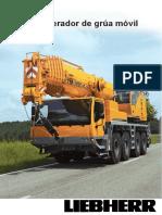 Manual de Operador de Gruas Movil liebherr LTM 1100