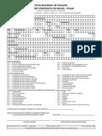 Ficha de Filiação PCdoB