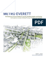 Metro Everett - Zoning, Building Height, And Parking Recommendations