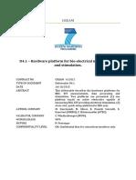CREAM D4.1 HW Platform for Bio Electrical Neuroimaging and Stimulation 2