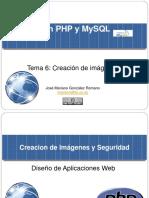PHP Imagenes y Seguridad