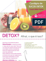7 Receitas Detox