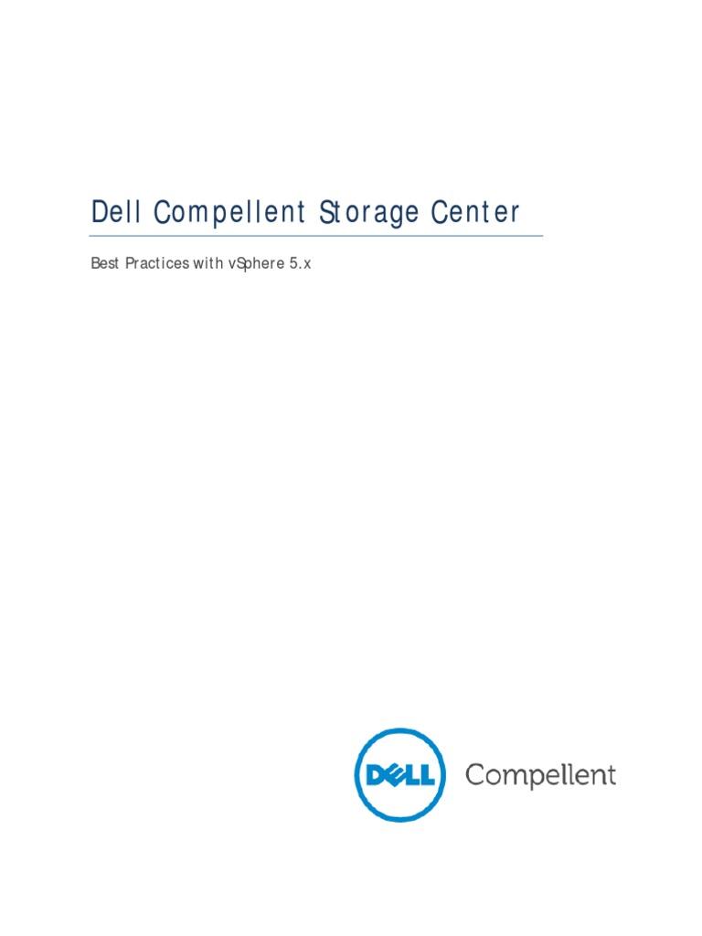 Dell Compellent Best Practices With VMware VSphere 5 x