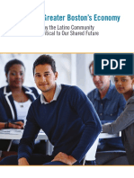Boston Foundation Report About Latinos