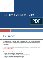 5. El Examen Mental