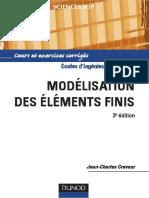 Jean-Charles Craveur-Modélisation Par Éléments Finis _ Cours Et Exercices Corrigés-Dunod (2008)