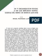 La Orden de Santiago en Murcia. La Repoblacion