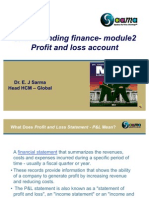 Basic Finance Module 2 Profit and Loss Account