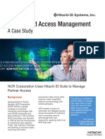 NCR Corporation - Identity and Access Management - A Case Study