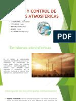 Manejo y Control de Emisiones Atmosfericas