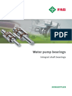 Integral Shaft Water Pump Bearings