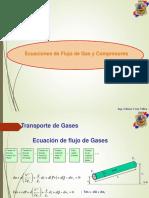 Ecuaciones de Flujo de Gas y Compresoras Gcv Primera Parte