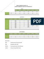 Time Schedule Kkn 112