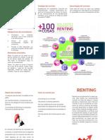 Renting Folleto
