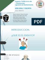 Expo Expresion Oral y Escrita