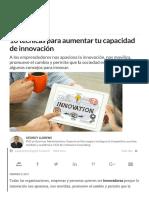 10 Maneras de Inovar