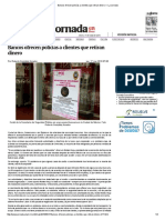 Bancos ofrecen policías a clientes que retiran dinero — La Jornada.pdf