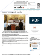Endurece Yucatán Plan de Seguridad — La Jornada