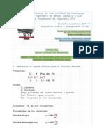 fc280, aporte de materiales