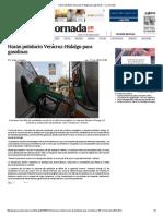 Harán Poliducto Veracruz-Hidalgo Para Gasolinas — La Jornada