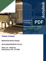 Inventor Fundamental Training