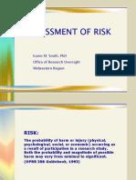 Assessing Risk Smith