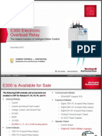E300 Overload Relay Presentation - INTERNAL Long (updated 11052015).pptx