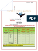 Itinerario 2017- 7D.6N Sin Pernocte en Aguas Calientes