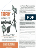 Bushnell Trophy Rebate